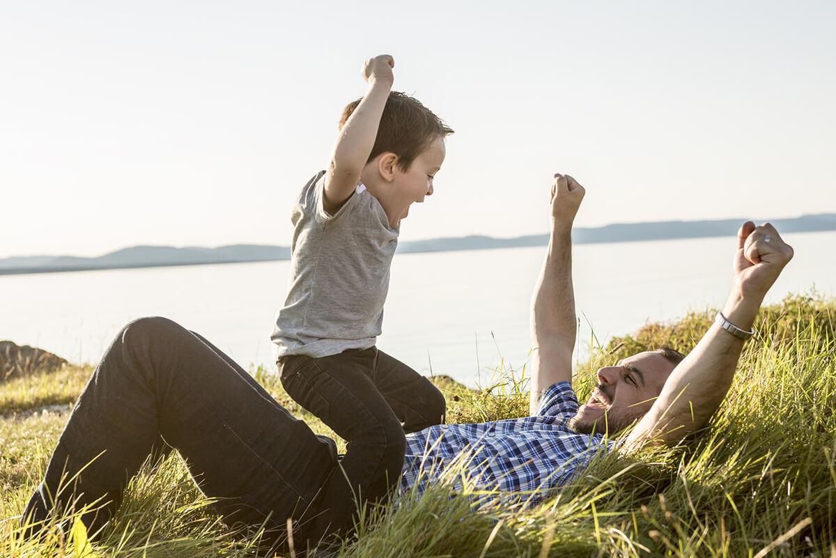Frieden mit dem Vater der Kindheit: Die innere Beziehung klären